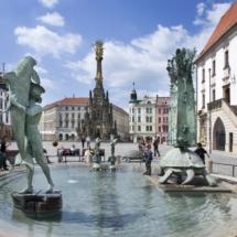 Arionova kasna, Sloup Nejsvetejsi Trojice (UNESCO), Olomouc, Ceska republika