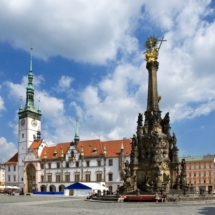 Sloup Nejsvetejsi Trojice (UNESCO), radnice, Olomouc, Ceska republika